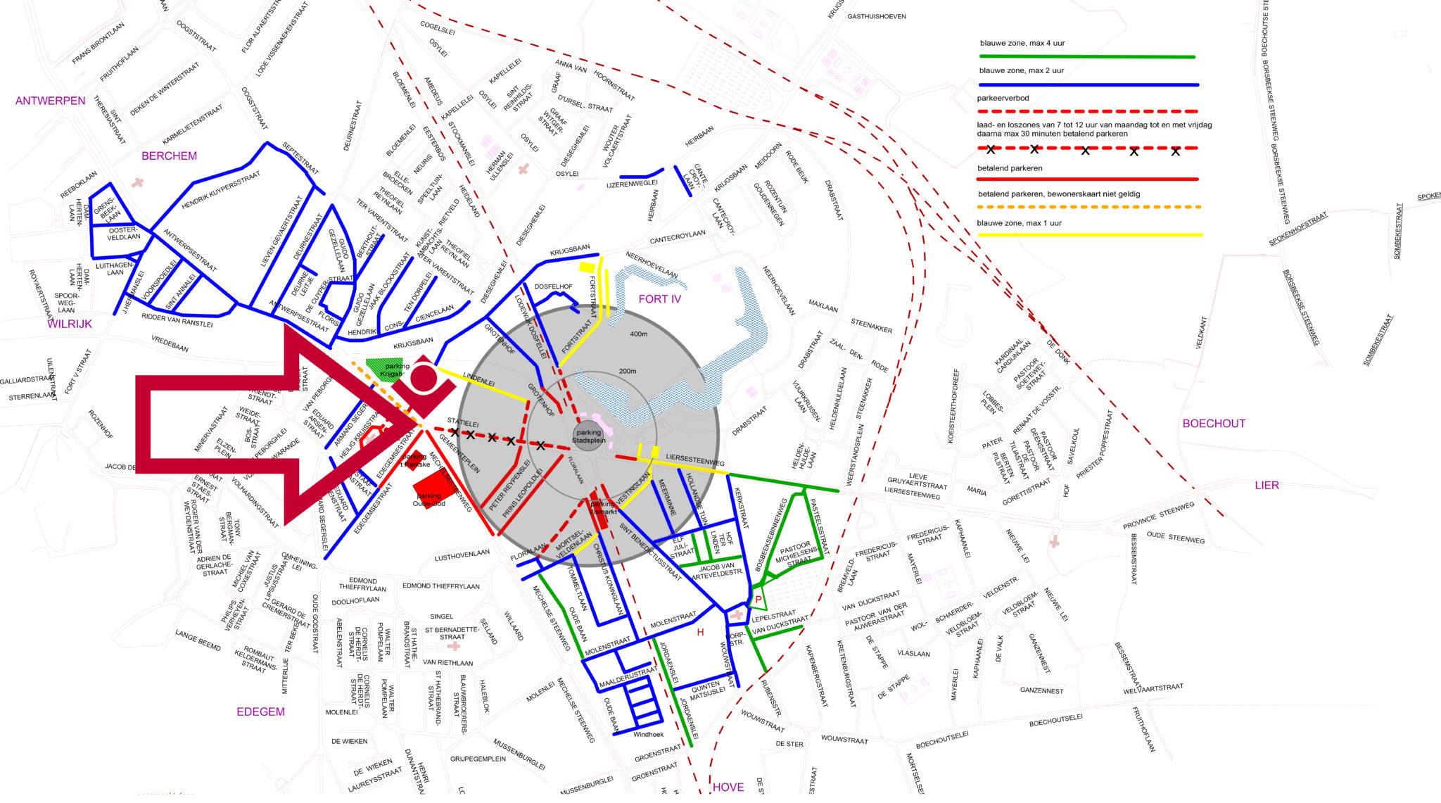 Parkeer Plan Mortsel